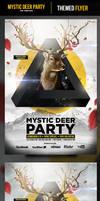 Mystic Deer Flyer Template
