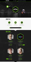 Honeycomb HTML5  Responsive One Page Template