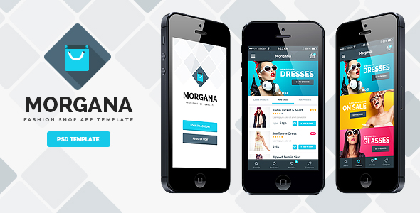 Morgana Fashion Shop - PSD App Template by odindesign on DeviantArt