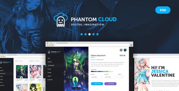 Phantom Cloud - Digital Artist Merchandising Shop by odindesign