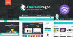 Emerald Dragon Marketplace HTML Template by odindesign