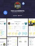 Alchemists Wordpress Sports Team and News Theme by odindesign