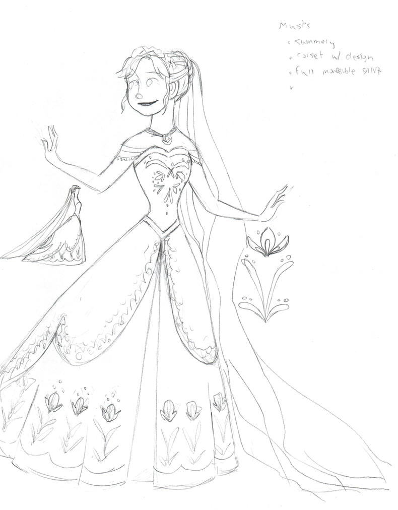 Anna Wedding Dress Concept By Djeffers On Deviantart