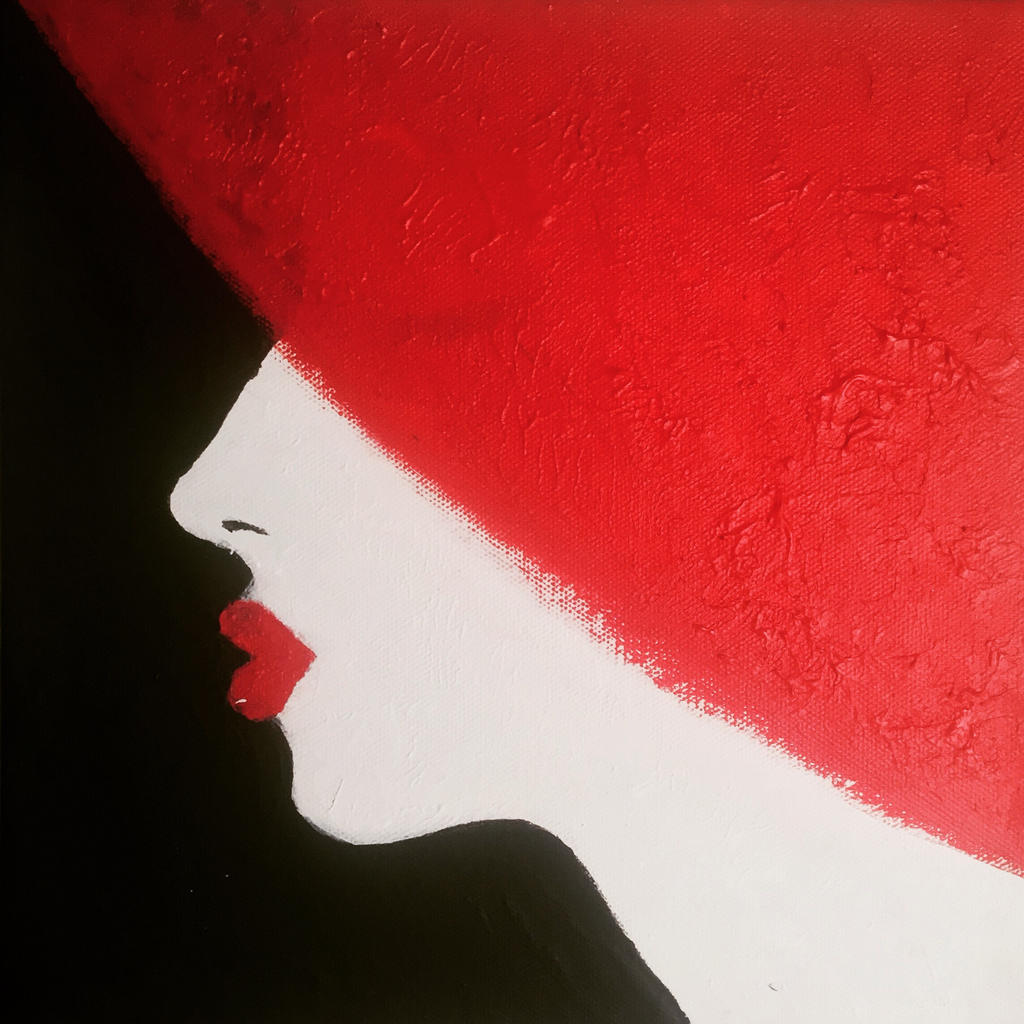 Girl in Red Hat by djeffers