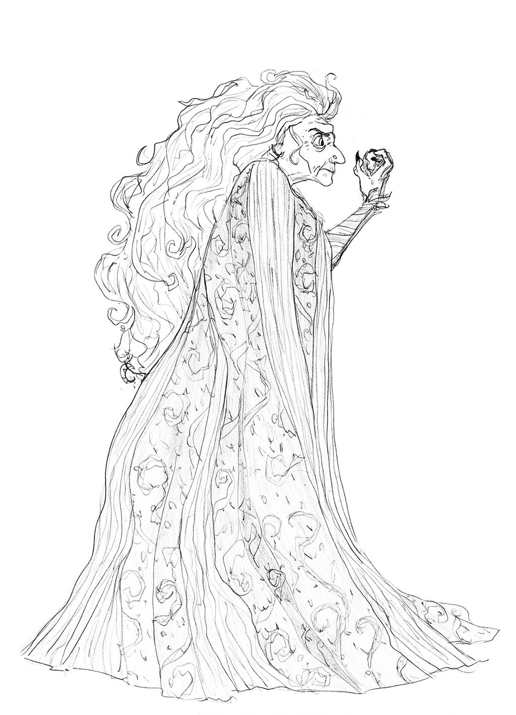 Evil Queen Hag Version (Charming) by djeffers on DeviantArt