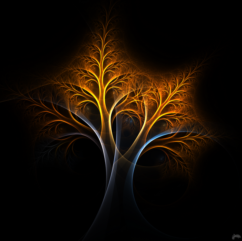 A tree of fire and ice by nirolo on deviantart for Fire and ice tattoo shop