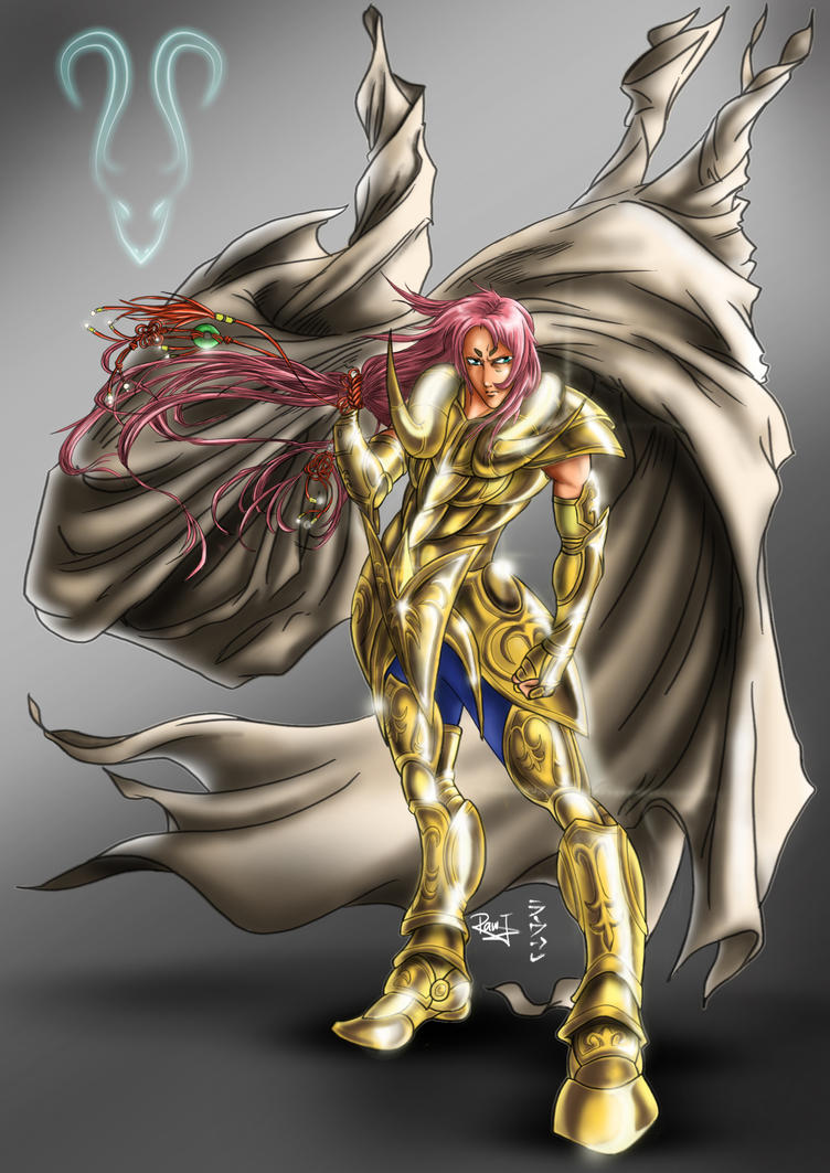 Saint Seiya: Aries no Mu by Raw-J