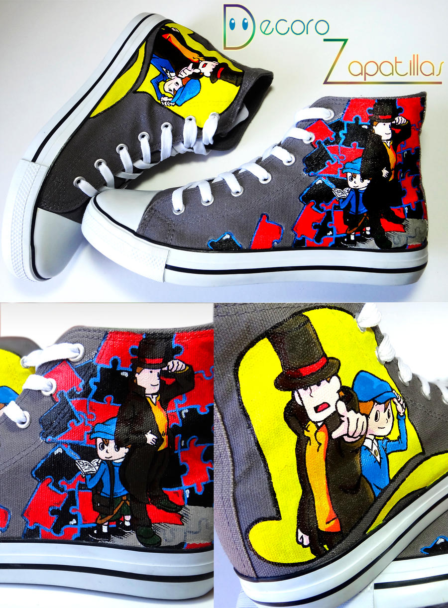 Layton shoes by Raw-J
