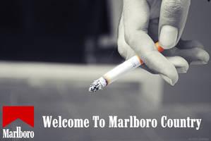 Marlboro Ad by AliffHazwan