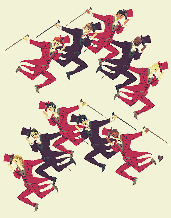 ten lords a-leaping by littlemotorcar