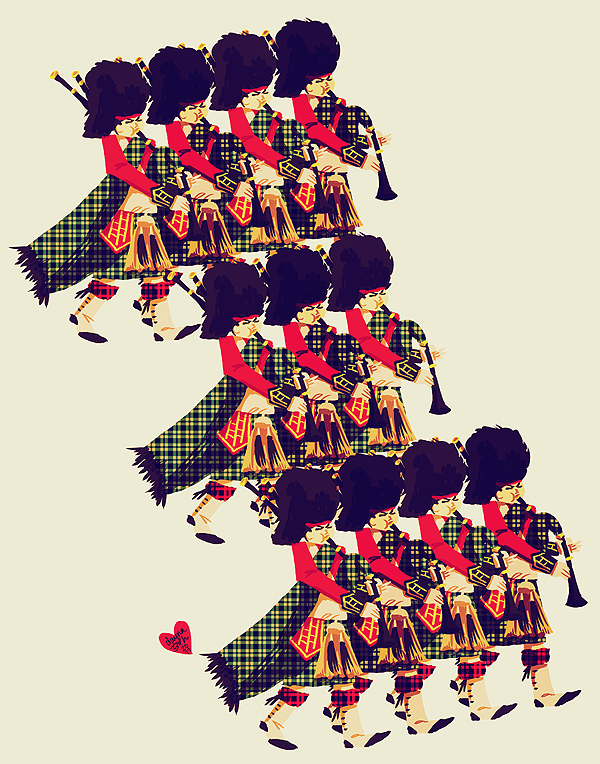 eleven pipers piping by littlemotorcar