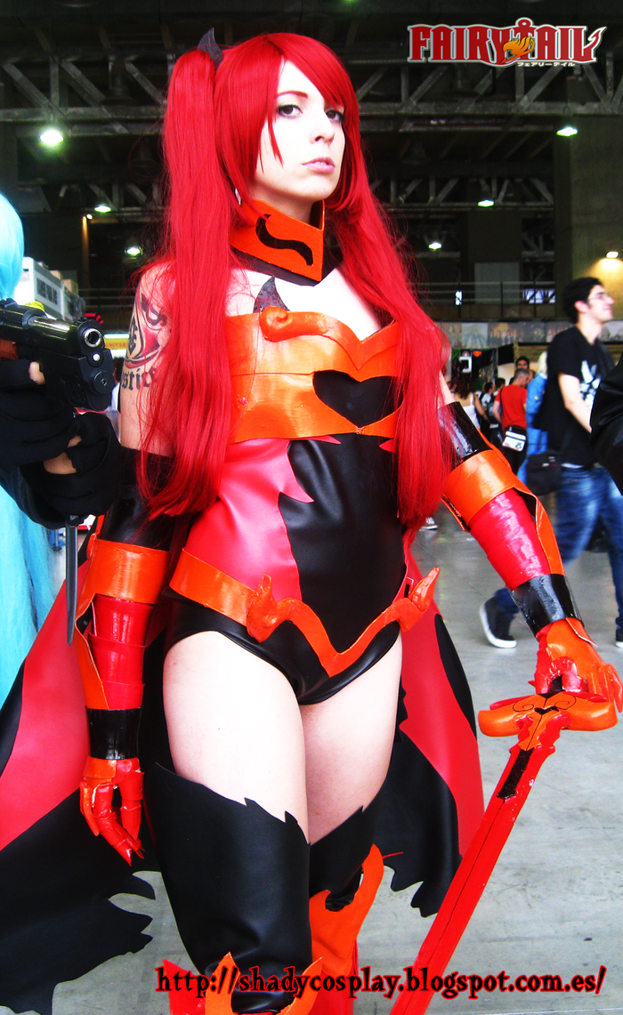 Erza Scarlet Fire/Flame Empress Armor Cosplay by Shady ...