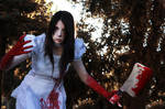 Madness!? Alice Hysteria Mode Cosplay