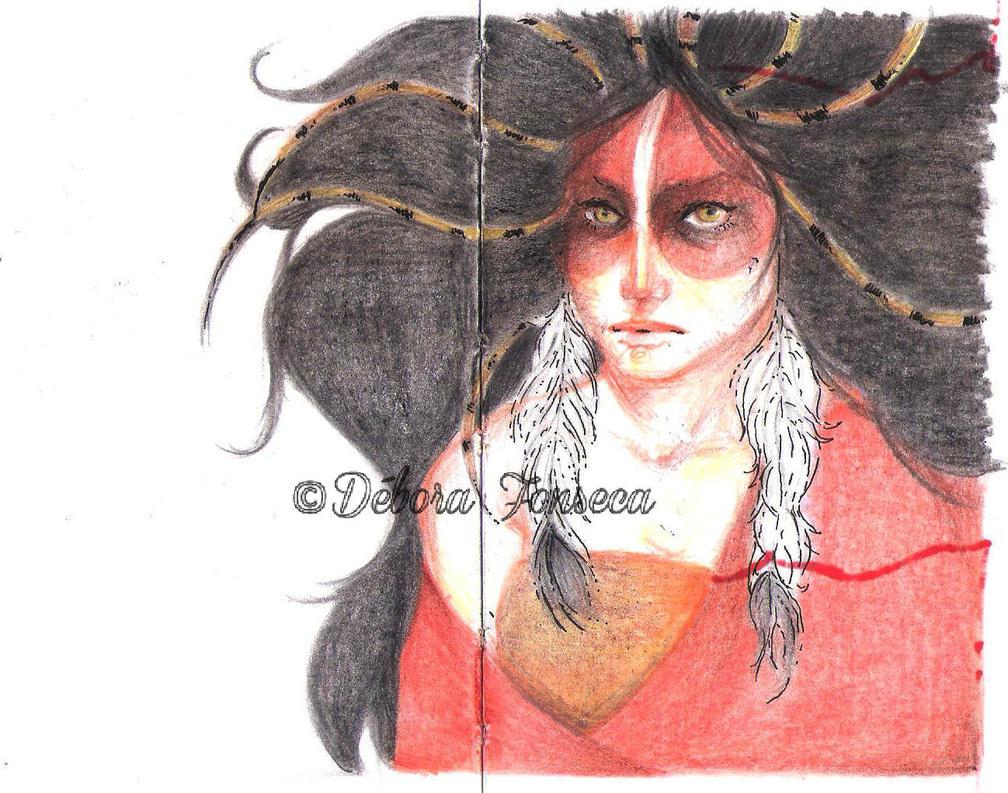Shamman Lady by DeboraFonseca