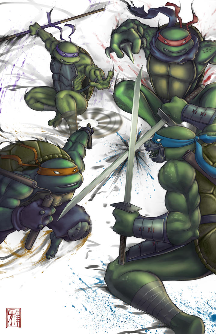 Turtle Power by Anii-Ki