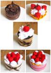 Felt Cakes 3
