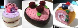 Pink Cakes by zetallis