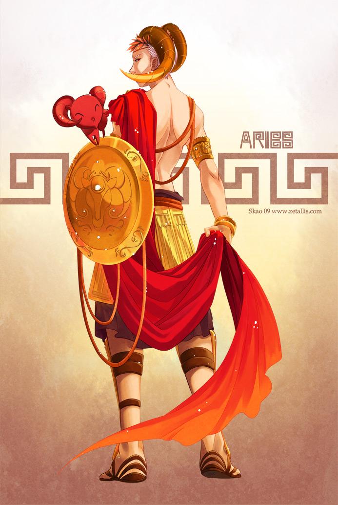 Anime Characters Leo Zodiac : Ndk  aries by zetallis on deviantart