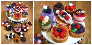 Felt Cake 4 by zetallis