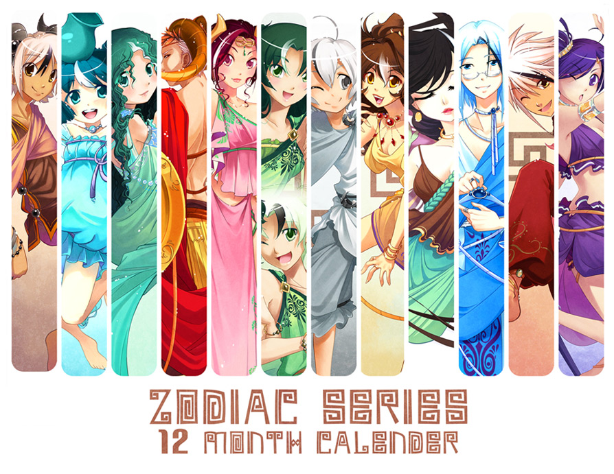 Greek Zodiac Calender By Zetallis On Deviantart