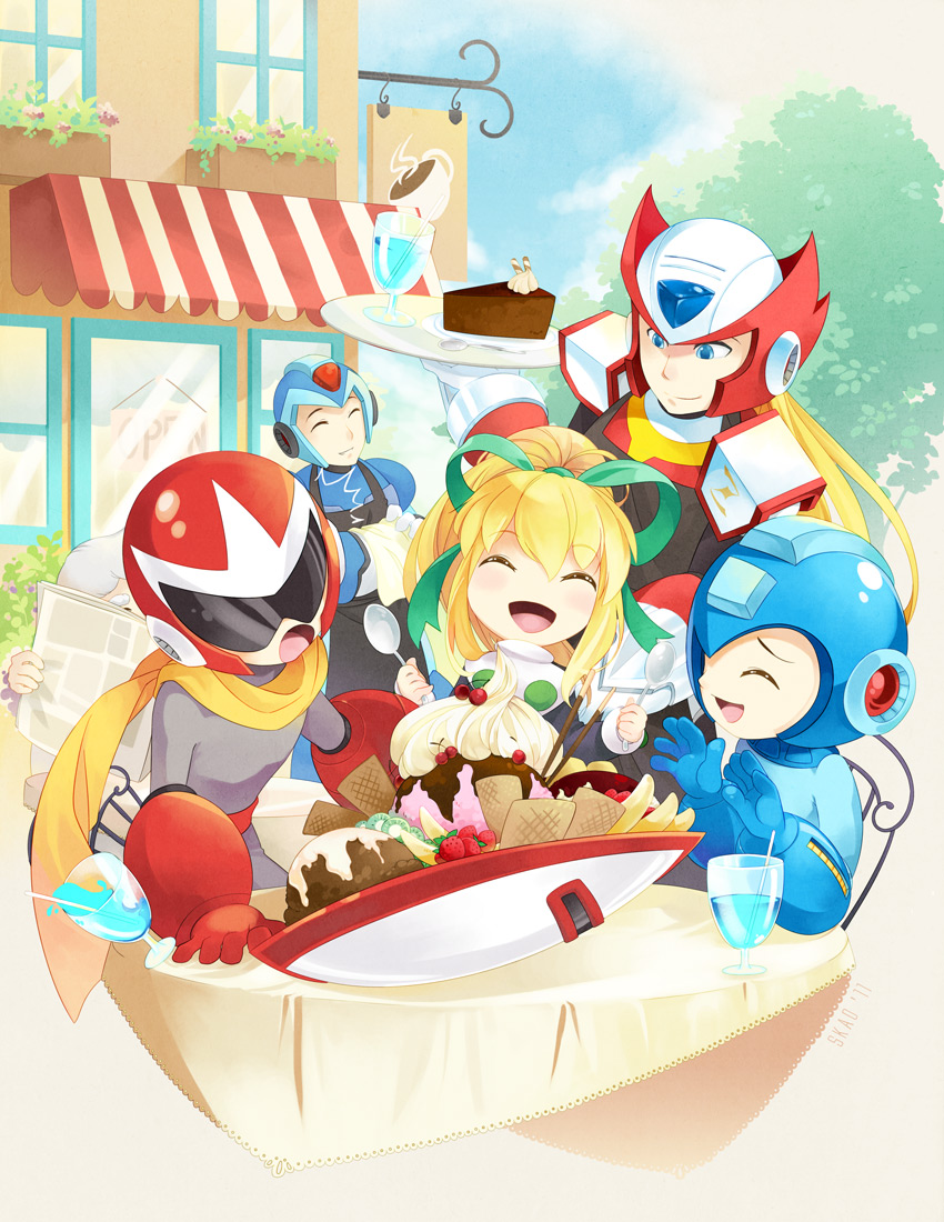 Mega Man Tribute by zetallis