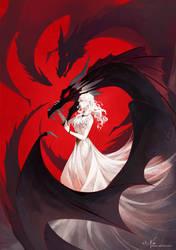 Daenerys Targaryen by zetallis