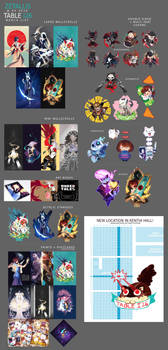 AX 2016 Merch List
