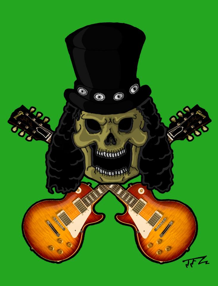 Slash skull 2 by TFZ9 on DeviantArt