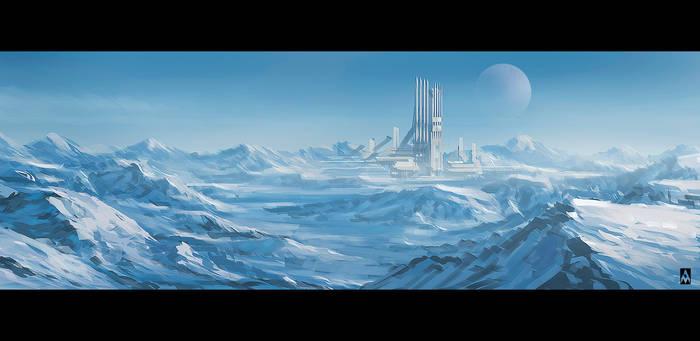 Snowy sci-fi