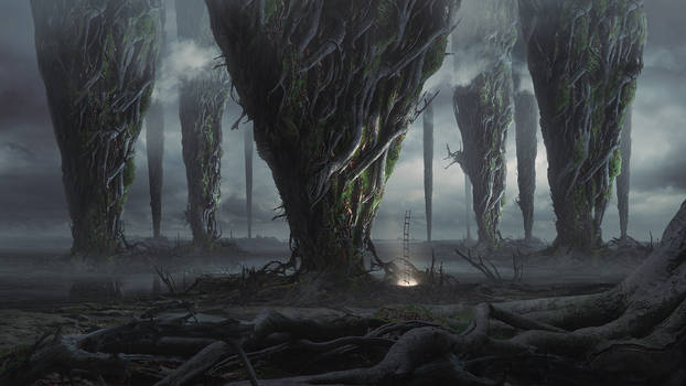 Colossal roots