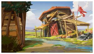 Salvage shack