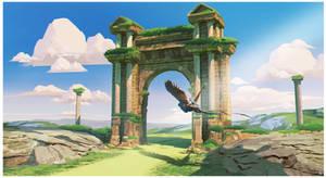 Ruins by Daazed-DA