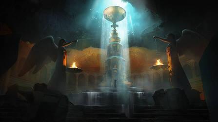 Eternal Well Concept 2 by Daazed-DA
