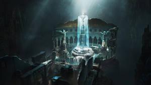 Eternal Well Environment Concept