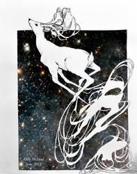 Deerz In Space