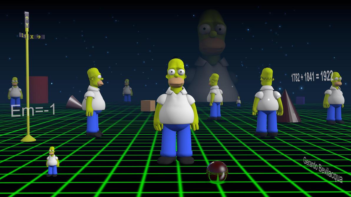 Homero 3d by gerardodesign