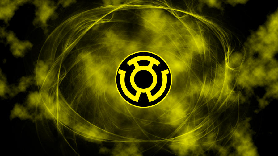 yellow lantern wallpaper by shadowarms on deviantart