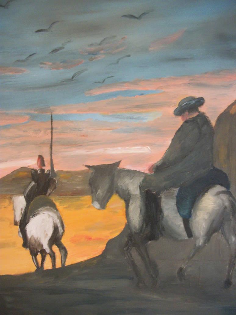 Don quichotte  Daumier