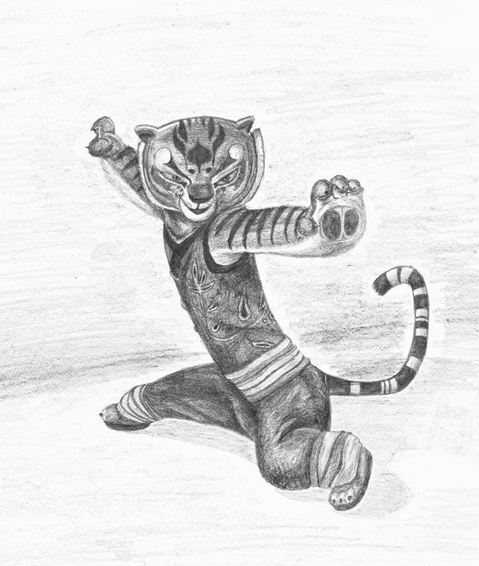 Kung Fu Panda - Tigress by wormyor on DeviantArt