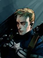Captain America - safed by NijiMcCrispy