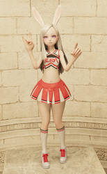 Elin (PC_Event29) Cheerloli Model by h0mez
