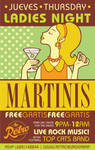 Retro Ladies Night Martinis