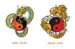 Dragon de Oro Logo Remake