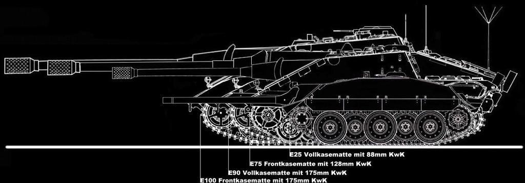 Jagdpanzer 1946 - E-Series by Splinter54 on DeviantArt