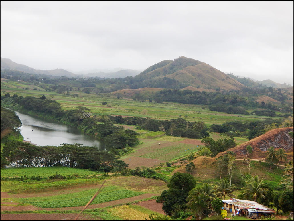 Sigatoka Valley, Fiji by vinter-stjarna