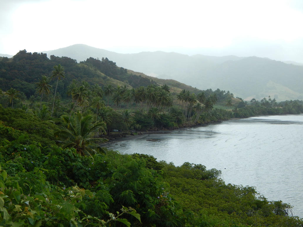 Northeast Coast of Viti Levu, Fiji by vinter-stjarna
