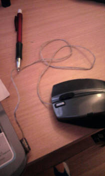 I have a wired mouse