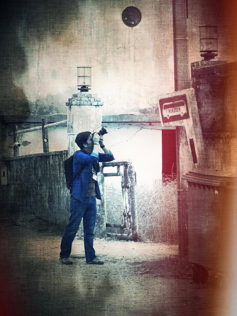 O fotografo e a sua musa II by zecamarques
