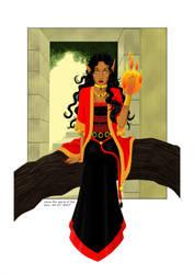 Asma the Fire Elve