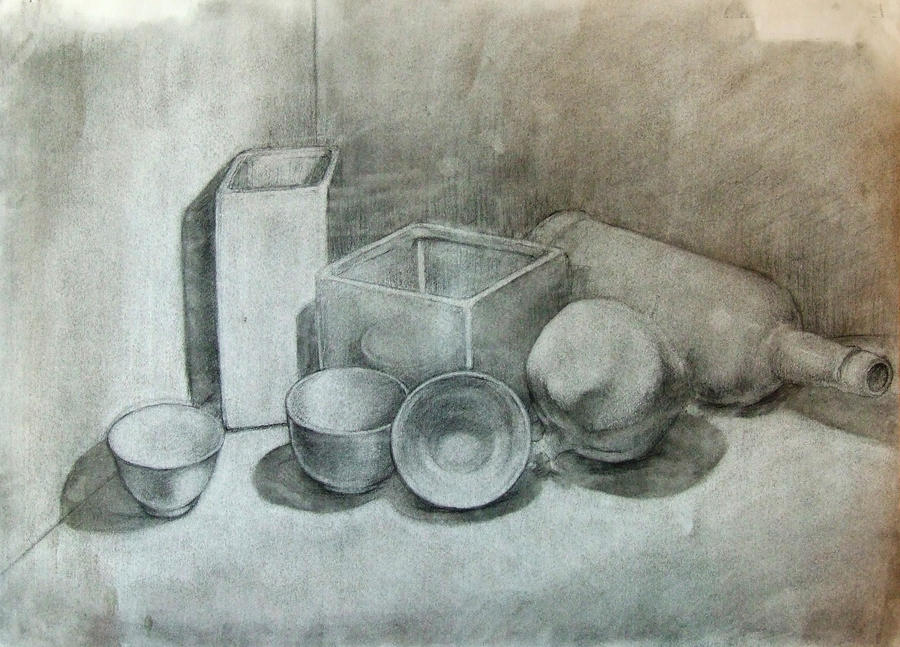 Still Life Drawing of Objects White Object Still Life by: hdimagelib.com/still+life+drawing+of+objects